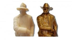 3D modely postav