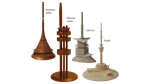 3D modely věží